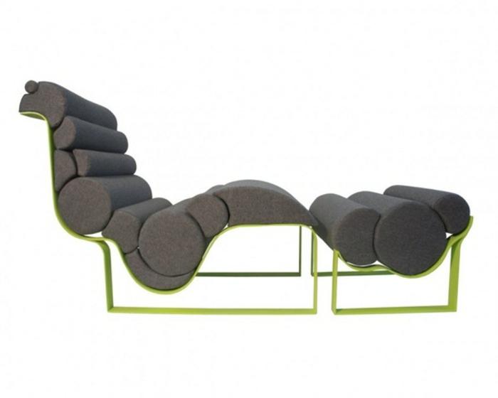 lounge sessel outdoor ergonomische liege futuristisch