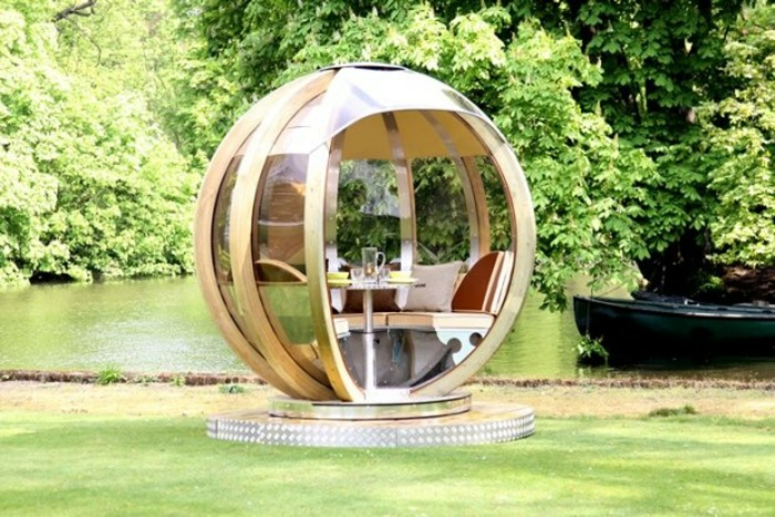 lounge sessel outdoor futuristisches design