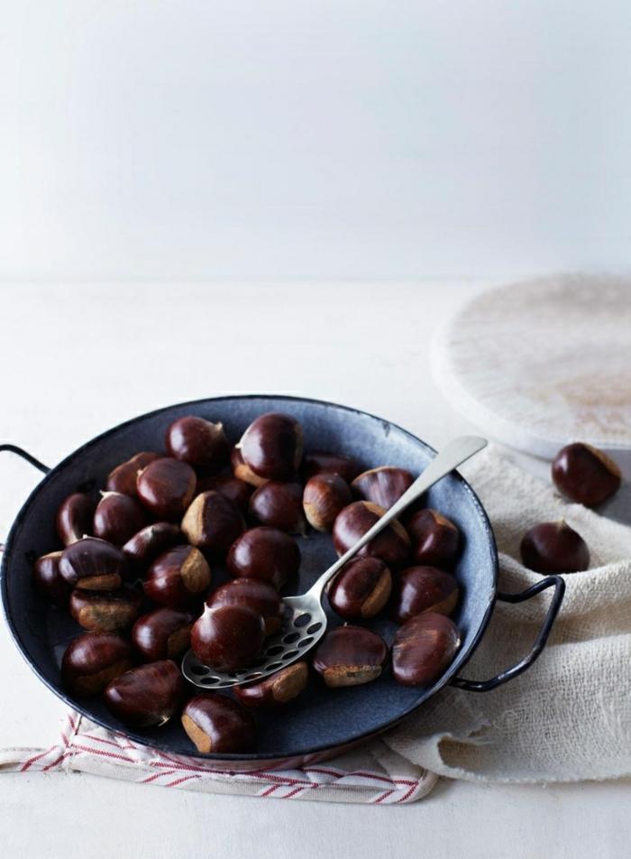 marone im backoffen zubereiten gesundes essen