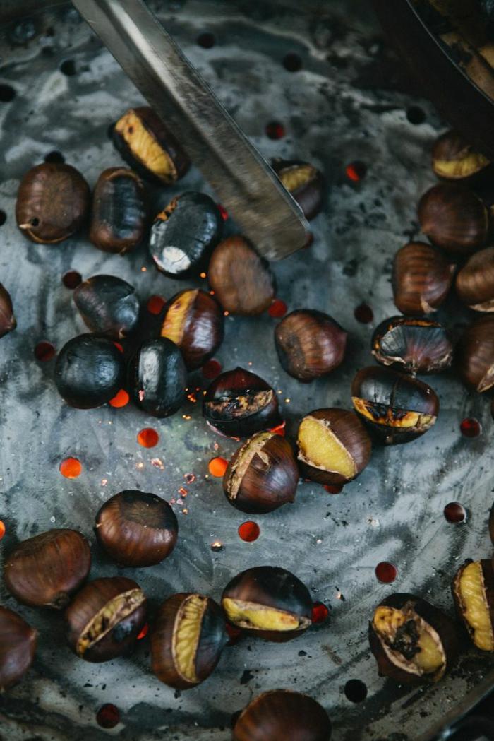 maronen zubereiten gesundes essen rezepte