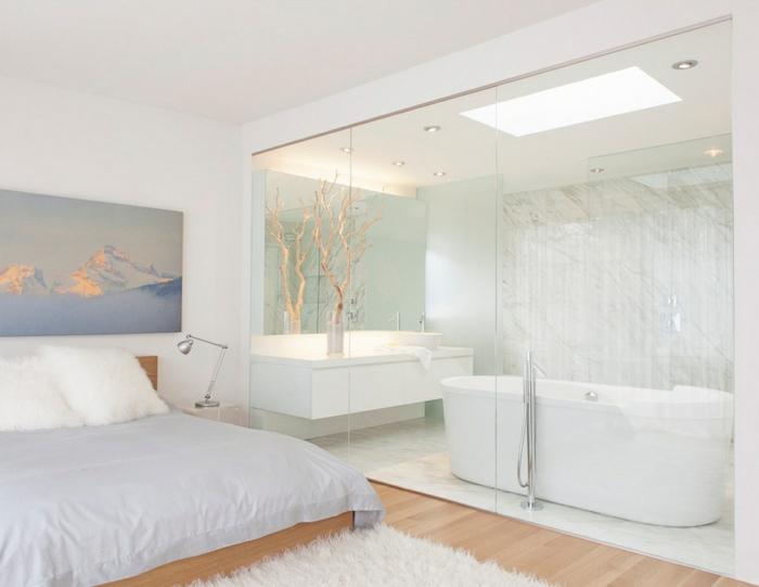 Moderne inneneinrichtung und die role des glases for Inneneinrichtung badezimmer