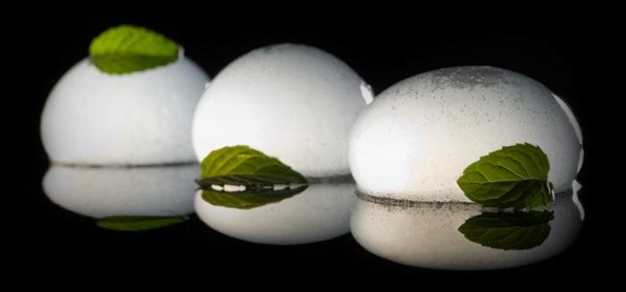 molekulare Küche mojito sphäre