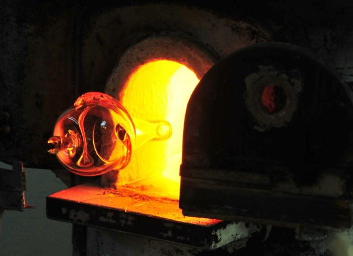murano glas brennen ofen traditionelle kunst