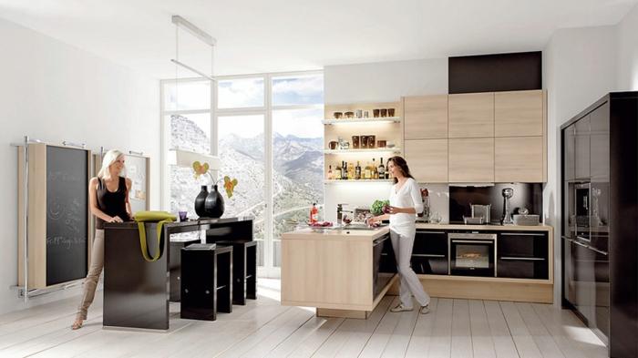nolte küchen design schicke ausstrahlung einrichtungsideen