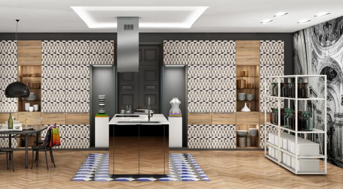 nolte küchen moderne küche einrichten spiegeloberflächen schöne texturen