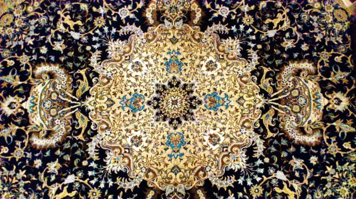 orientteppiche folkloremuster filigran persisch