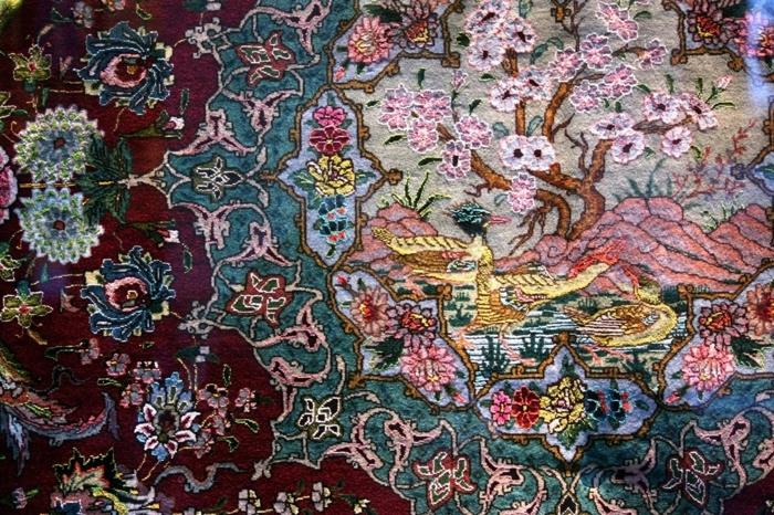 orientteppiche folkloremuster floral animal persisch