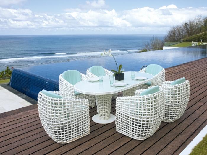 outdoor stoffe baumwolle einfarbig sitzauflagen