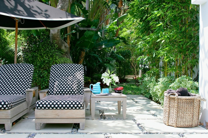 outdoor stoffe reinigen außenmöbel pflegen sonnenschirm