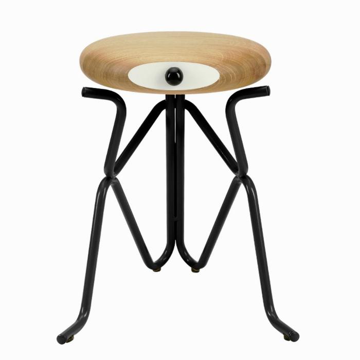 d nisches m bel design holzhocker von phillip grass. Black Bedroom Furniture Sets. Home Design Ideas