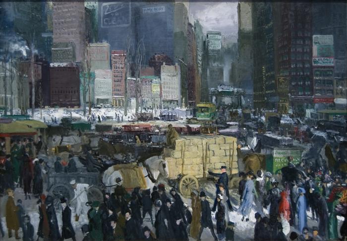 realismus kunst leinwand amerikanisch george bellows