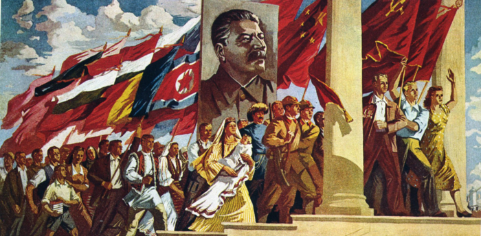 realismus kunst leinwand totalitarismus komunismus regime