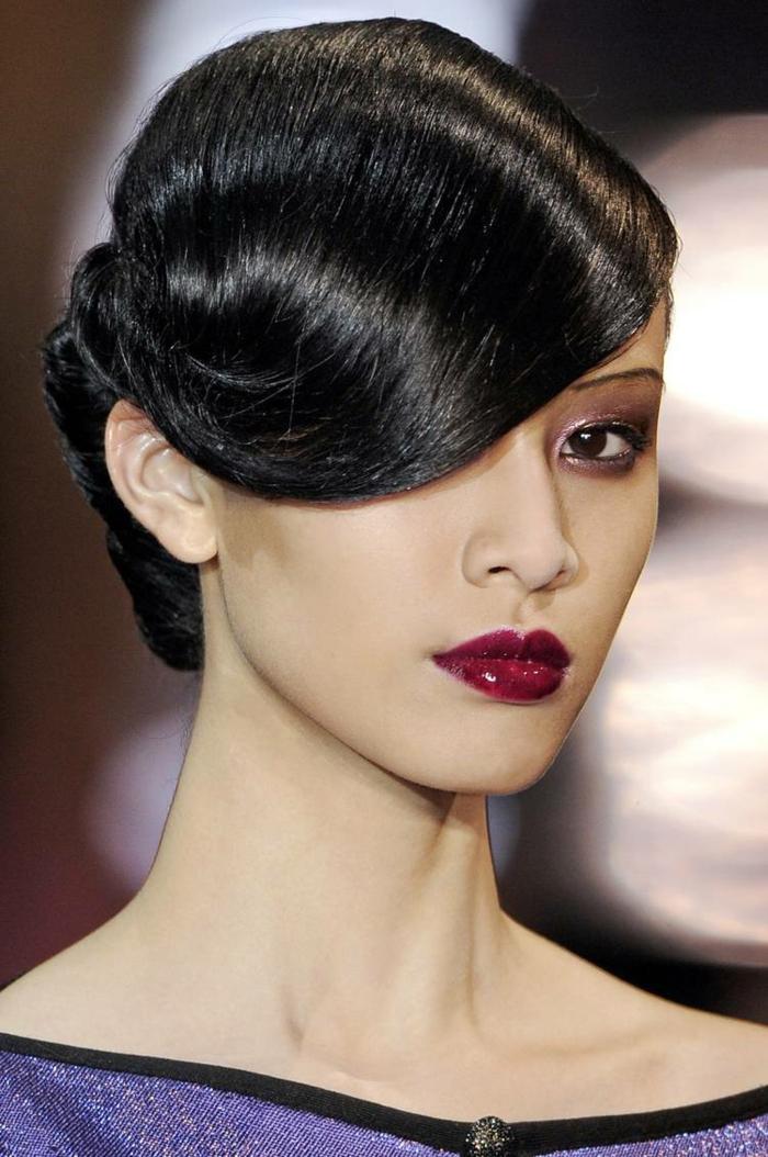 retro haaschnitte 50er jahre frisuren haarschnitte