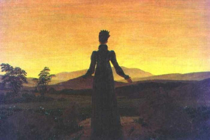Romantik Kunst Merkmale und Werke von Caspar David Friedrich