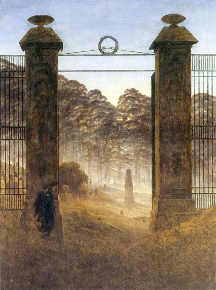 romantik kunst malerei Caspar David Friedrich