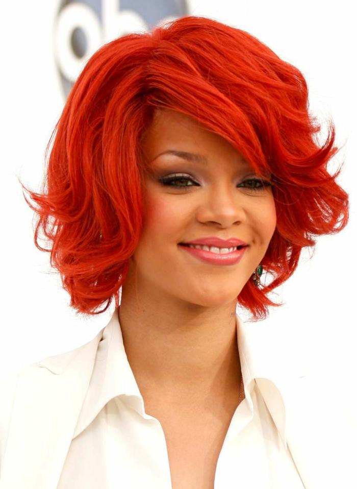 rote haare färben berühmtheiten kurzhaarschnitte