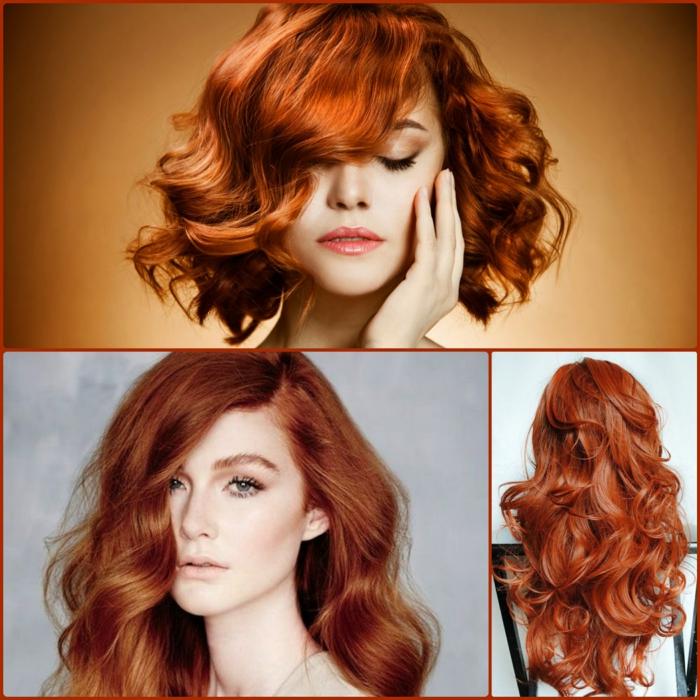 rote haare färben berühmtheiten trendfrisuren haarschnitte