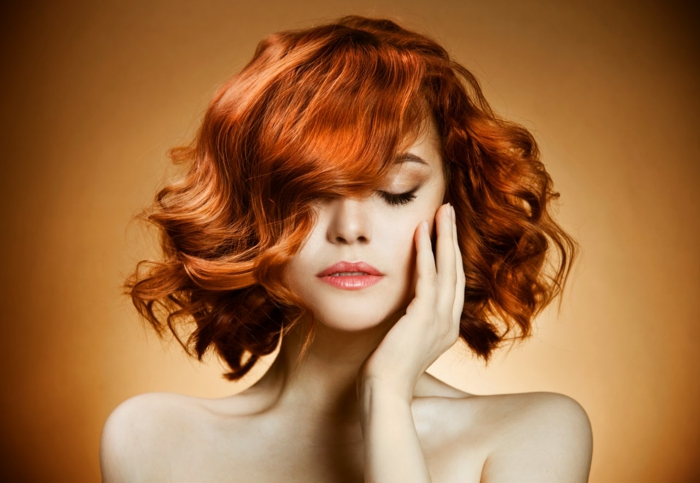 rote haare färben trendy frisuren haarschnitte