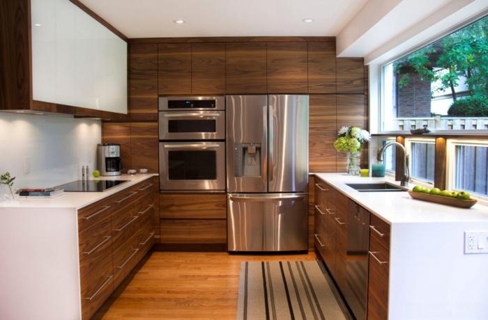 rustikale küchengestaltung küche mit kochinsel holzküche