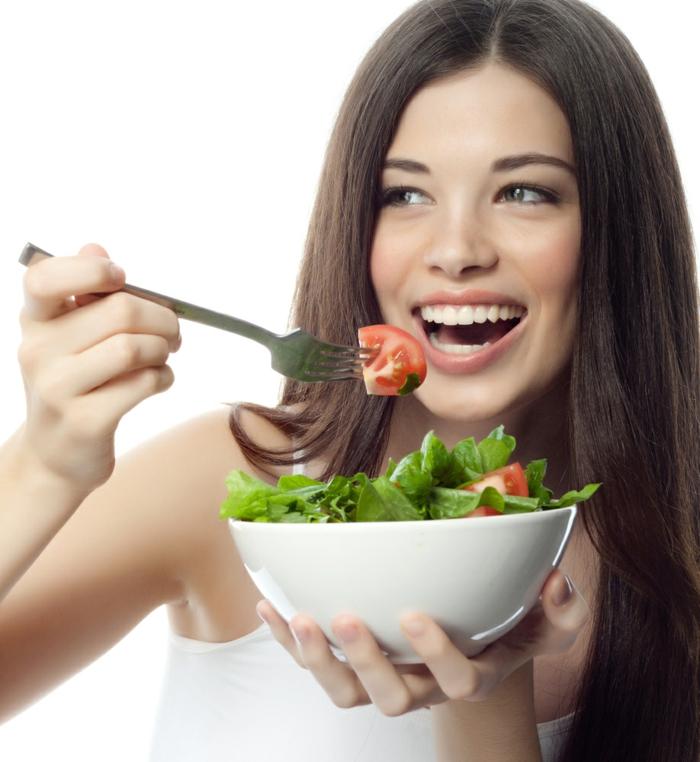 schöne haut gesundes essen frische salate