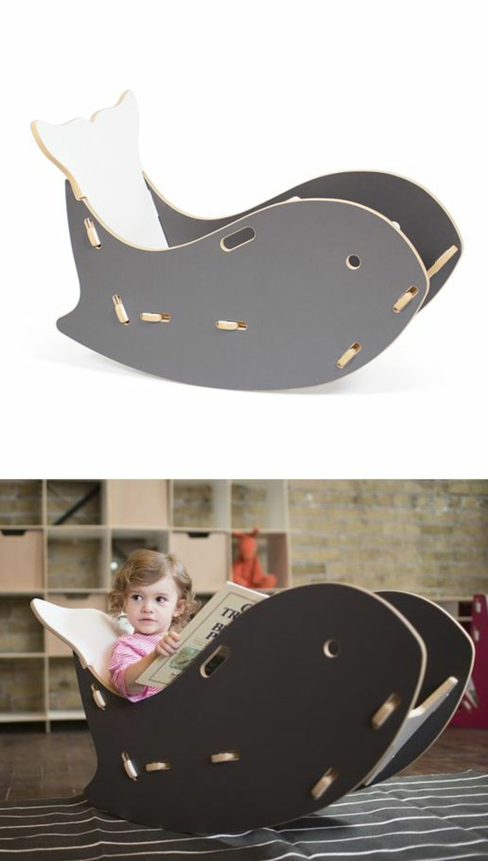 schaukelstühle designs kinderzimmer einrichten kindermöbel wale schaukelstuhl
