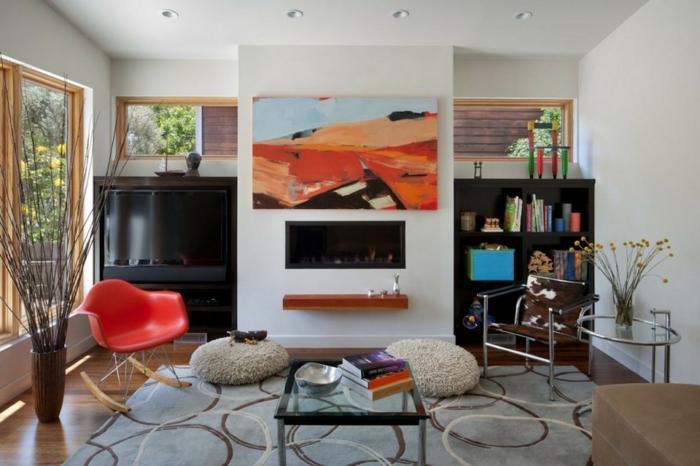 92 wohnzimmer einrichten ideen neutrale farbtne cooler for Relax zimmer einrichten
