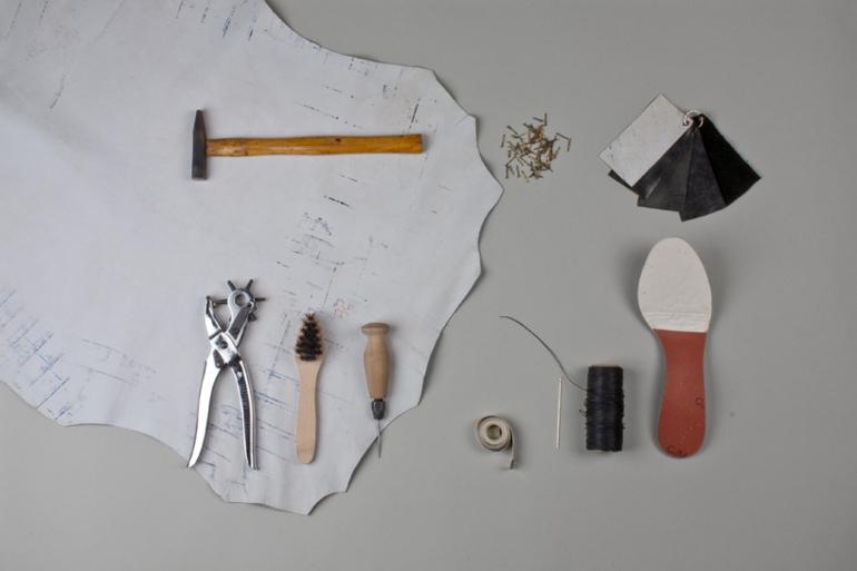 schuhe selbst designen Iga Węglińska nötige instrumente
