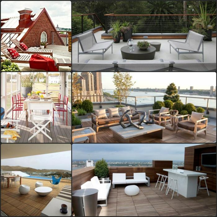 Ausgefallene Terrassen Ideen Tipps Fotobeispiele