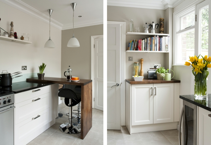 shaker möbel kücheneinrichtung