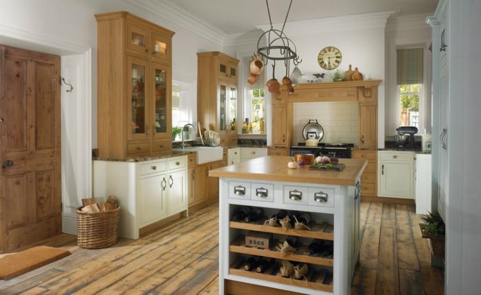 Kitchen Island Pot Hanger