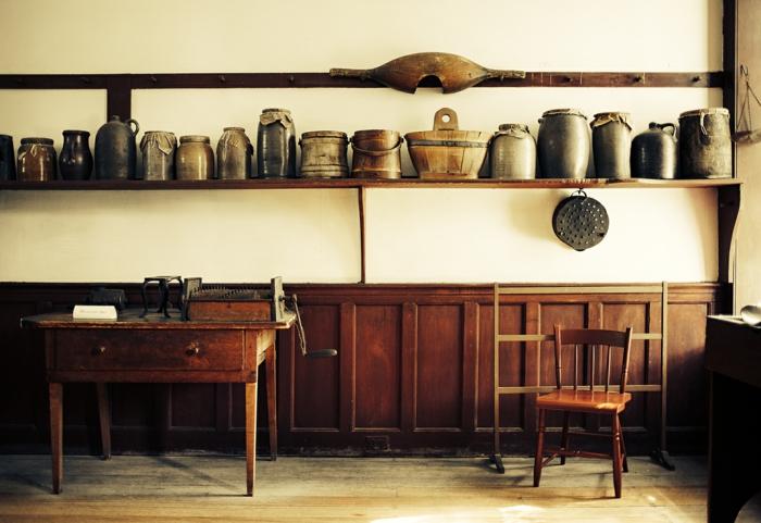 Shaker Möbel stehen für Schlichtheit, Funktion und Ästhetik