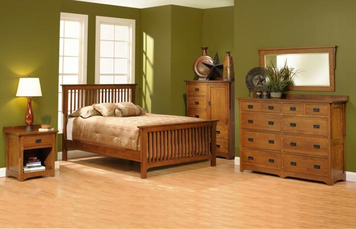 shaker möbel schlafzimmer inneneinrichtung massives holz