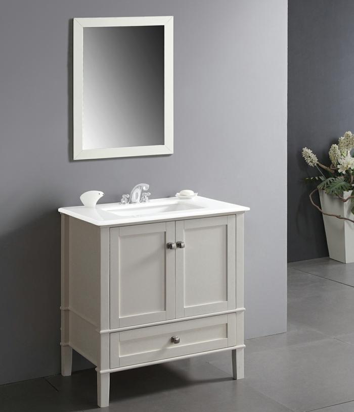 shaker möbel waschkommode weiß modern