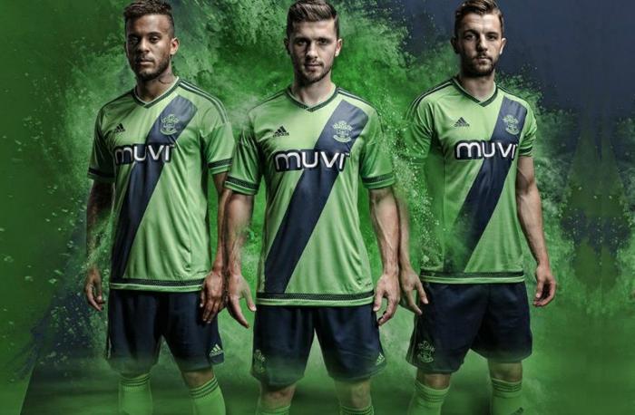 southampton adidas trikotsatz 2015 2016 fußballtrikots