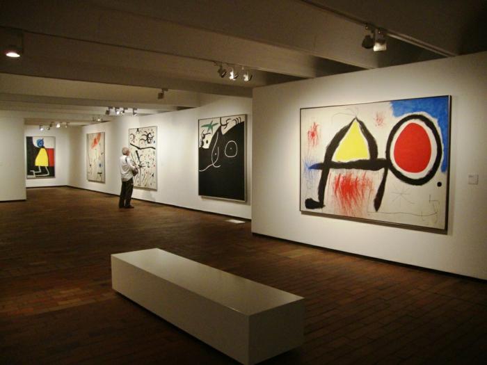 spanien sehenswürdigkeiten museo Joan Miró Barcelona werke kunst