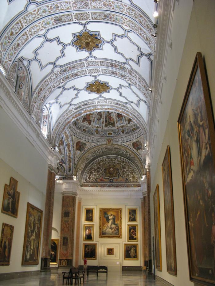 spanien sehenswürdigkeiten museo de artes sevilla