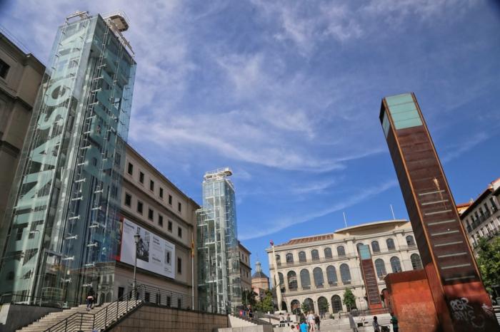 spanien sehenswürdigkeiten museo nacional centro de arte madrid