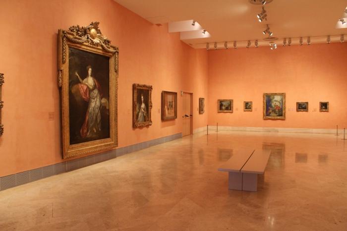 spanspanien sehenswürdigkeiten museo thyssen bornemisza madrid ausstellungshalle