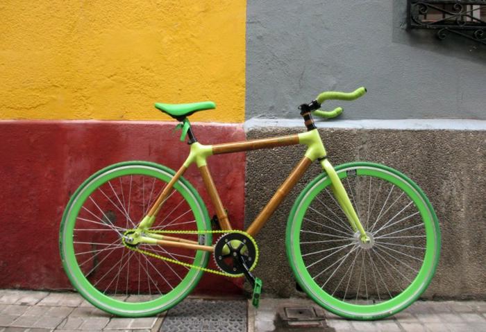 stylische fahrräder bcb nachhaltiges design neongrün