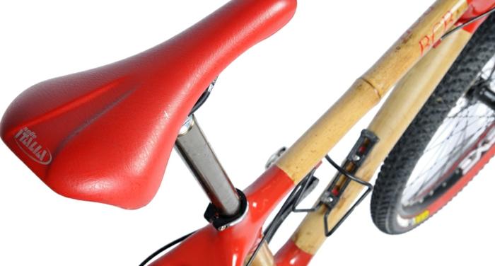 stylische fahrräder bcb nachhaltiges design sitz rot