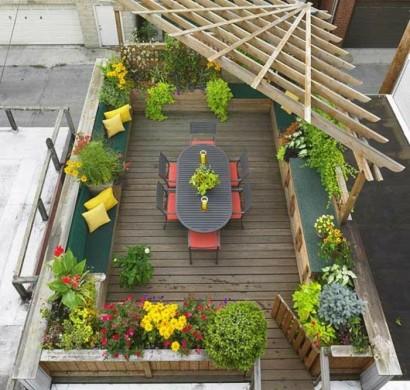 Grüne Dachterrasse terrassenbepflanzung tipps so gestalten sie eine grüne wohlfühloase