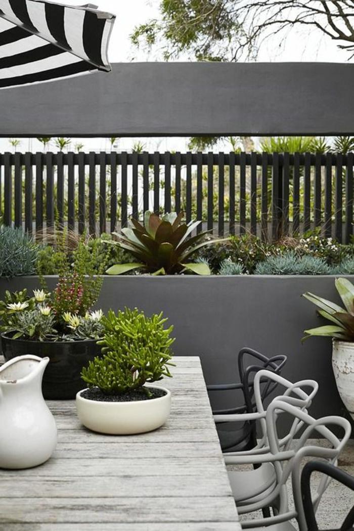 terrassenbepflanzung möbel und deko ideen grüne terrassengestaltung