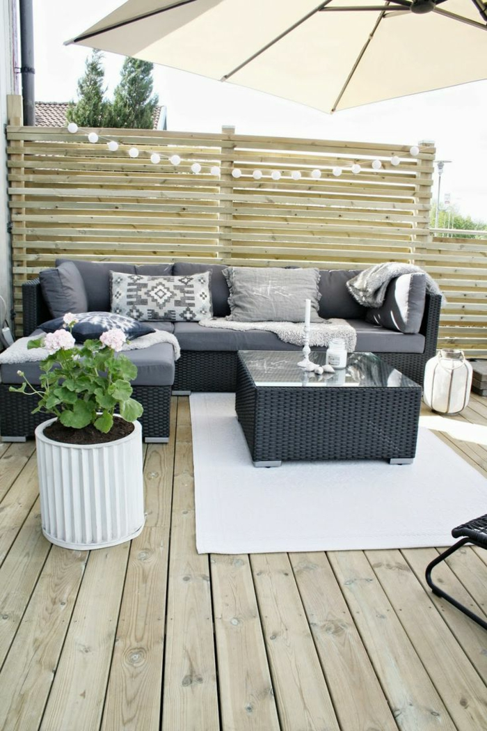 sch ne terrasse gestalten haloring. Black Bedroom Furniture Sets. Home Design Ideas