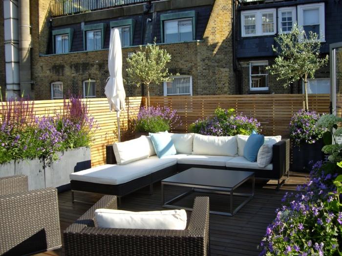 sch ne terrassengestaltung den au enbereich zur geltung. Black Bedroom Furniture Sets. Home Design Ideas