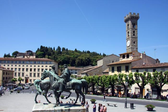 toskana urlaub am meer Fiesole italienische stadt