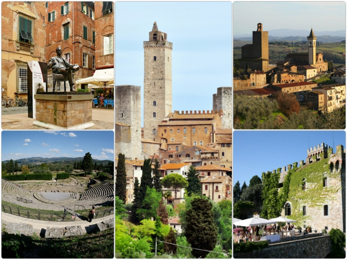 toskana urlaub am meer siena und andere italienische städte