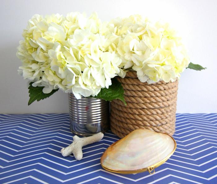 Originelle ideen wenn sie ihre vasen dekorieren m chten - Blechdosen dekorieren ...