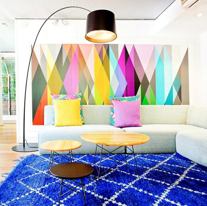 schlichte ideen für ihre wand deko in der mietwohnung - Wohnzimmer Deko Figuren