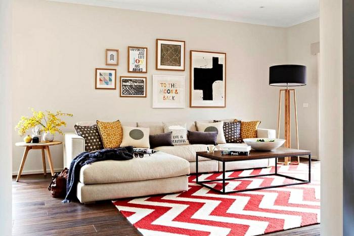 schlichte ideen f r ihre wand deko in der mietwohnung. Black Bedroom Furniture Sets. Home Design Ideas