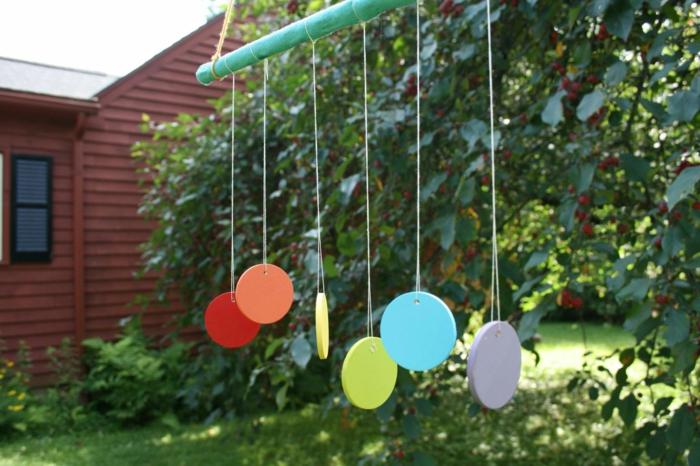 windspiel basteln mit kindern. Black Bedroom Furniture Sets. Home Design Ideas